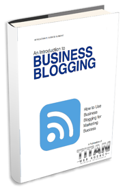 An Introduction to Business Blogging Cover