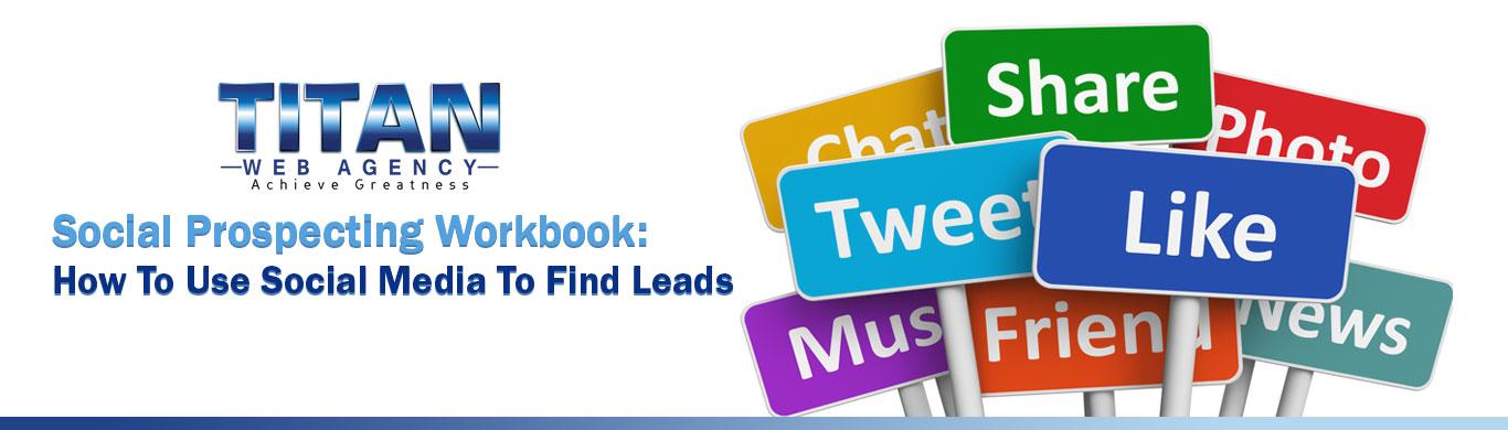 Social Prospecting Workbook Banner