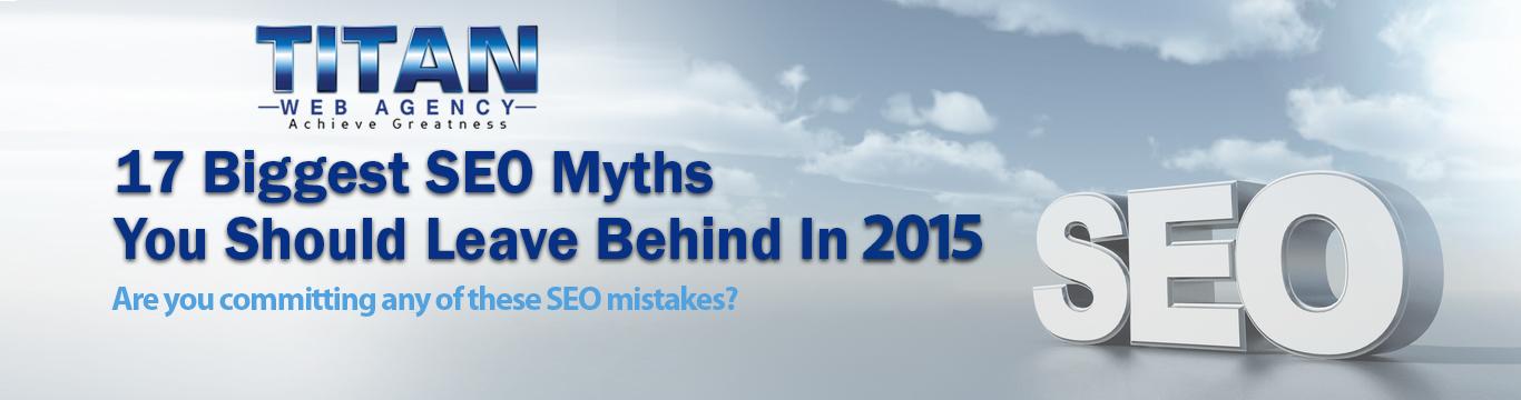 SEO Myths Banner